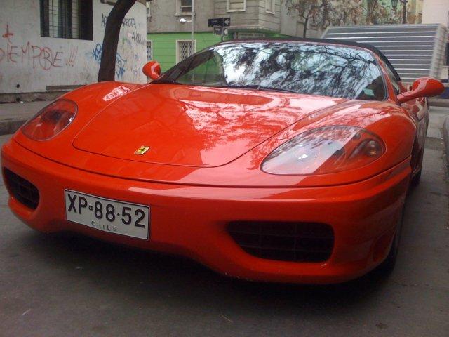 Ferrari F360 Modena Spider En Santiago De Chile Racing5