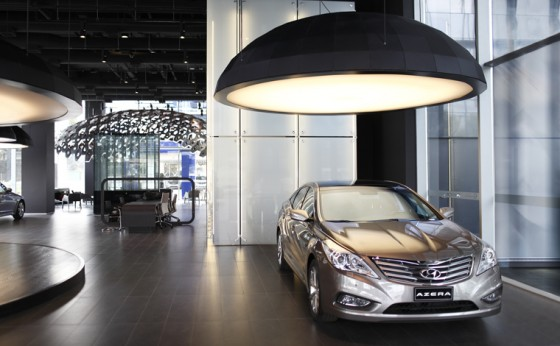 Showroom Premium Hyundai - Edificio Corporativo Minvest