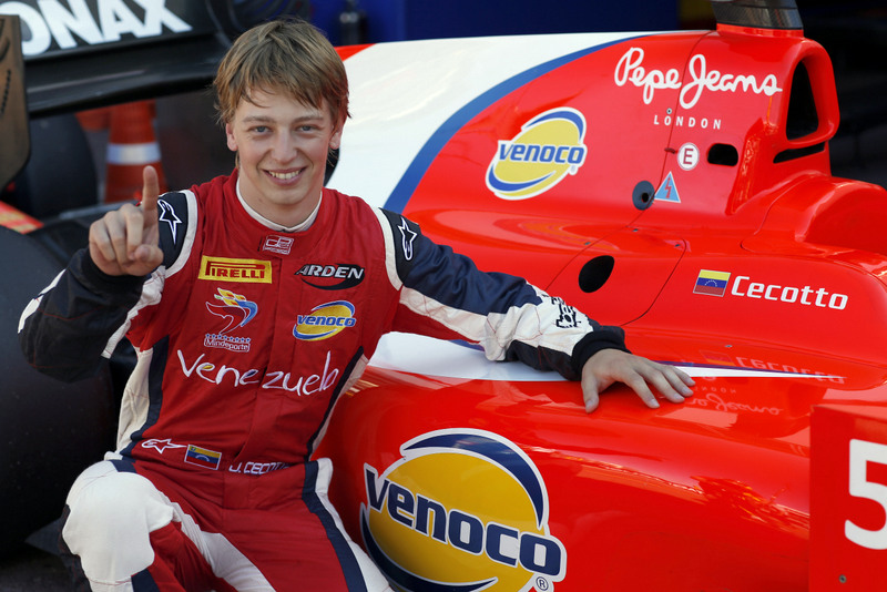 GP2 Series: Pole position de Johnny Cecotto Jr. en Mónaco