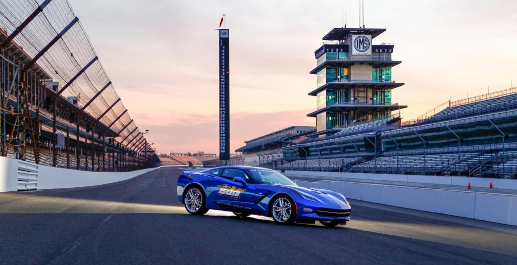 Chevrolet Corvette Stingray 2014: El pace car de las 500 Millas de Indianapolis