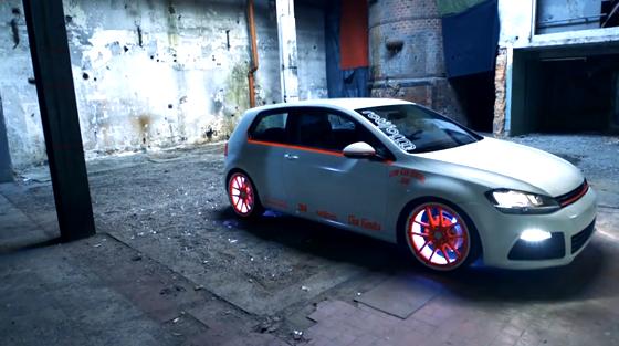 Tuning: El auto que brilla en la oscuridad   Racing5