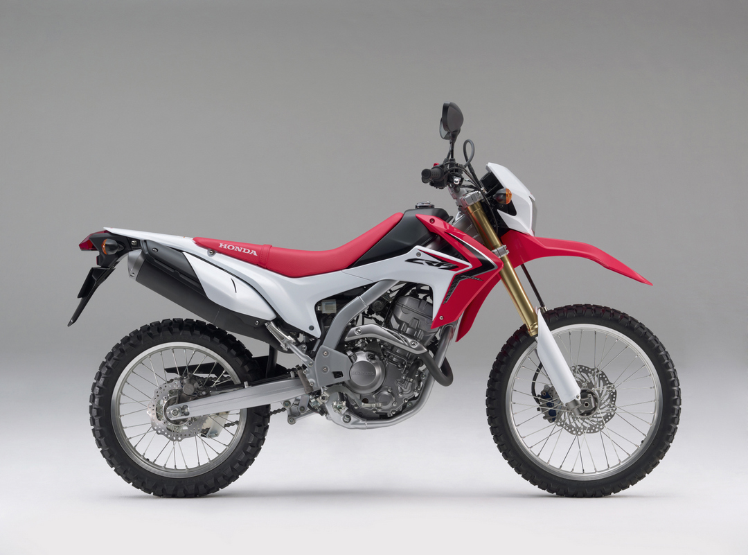 Honda Crf L on Honda Xr 250 Hp