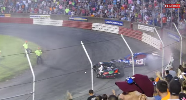 Video, otro día de locos en Bowman Gray