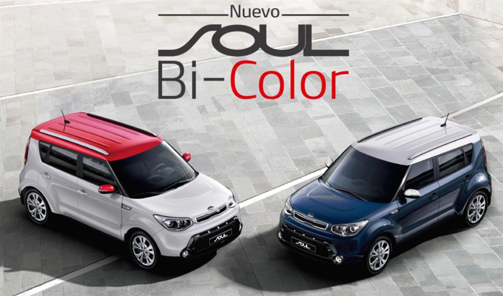 Kia Soul se luce con nuevas versiones Bi Color