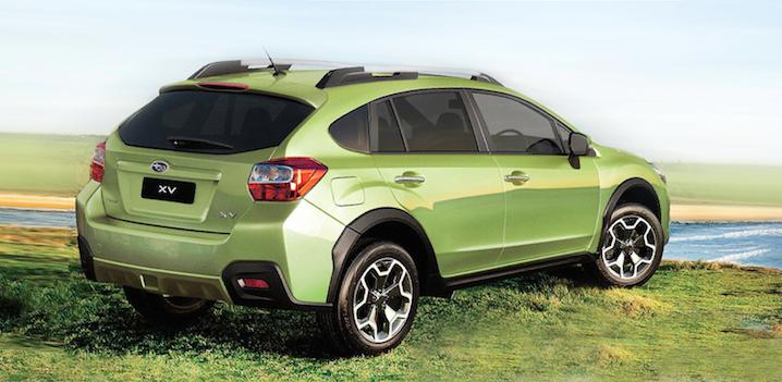 Subaru Xv 2014 Verde