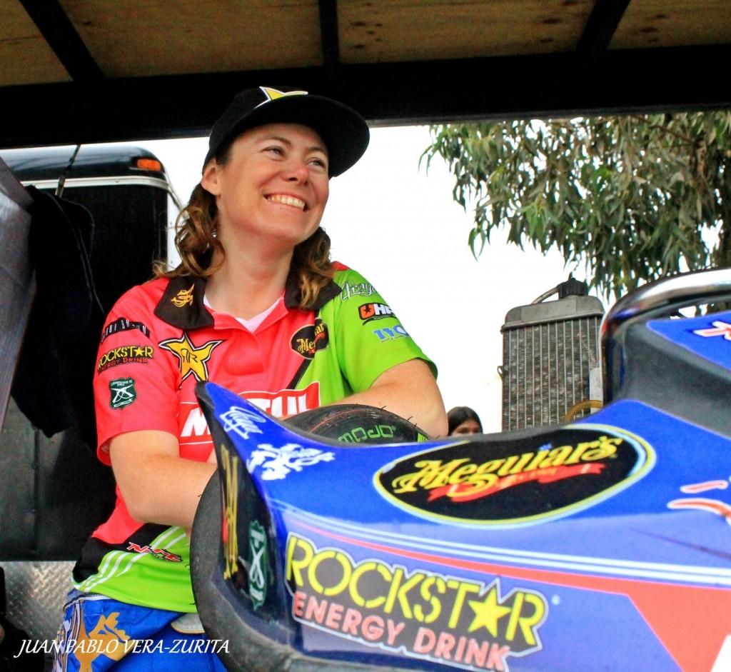 Constanza Jiménez se ilusiona con competir en la Abarth Punto Competizione junto al Super TC2000 en Codegua