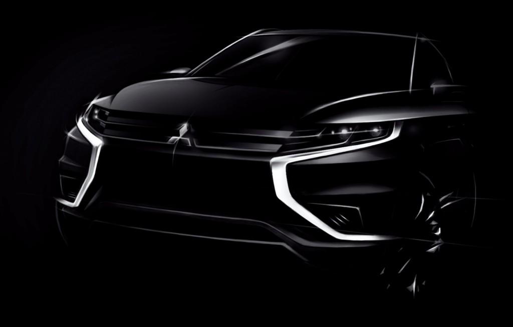 Mitsubishi presentará un Outlander PHEV Concept-S en el Salón de Paris
