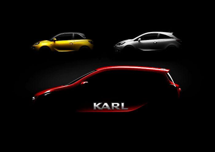 El Opel Karl será el nuevo hermano del Corsa y Adam