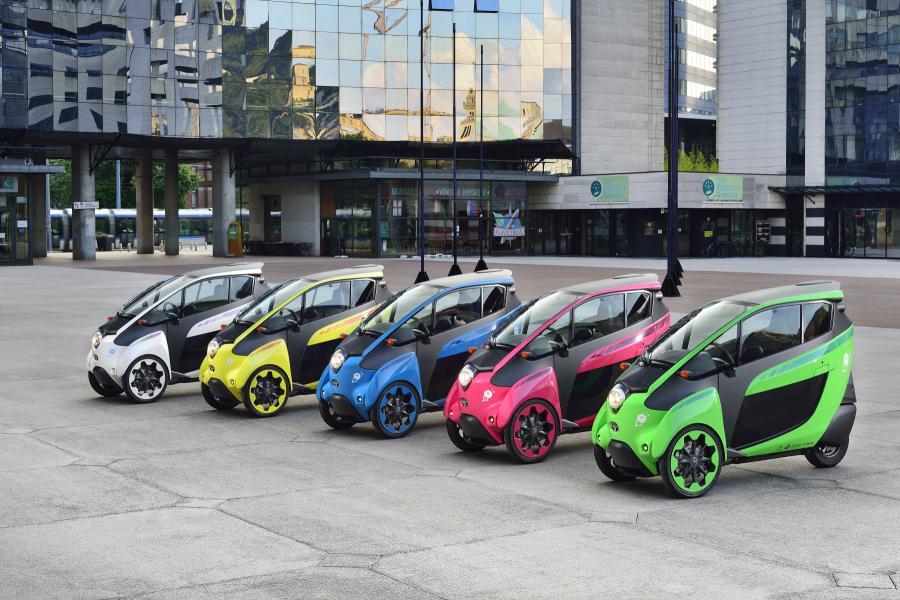 Toyota y la ciudad de Grenoble inaugurarán interesante sistema de movilidad eléctrica para complementar al transporte público
