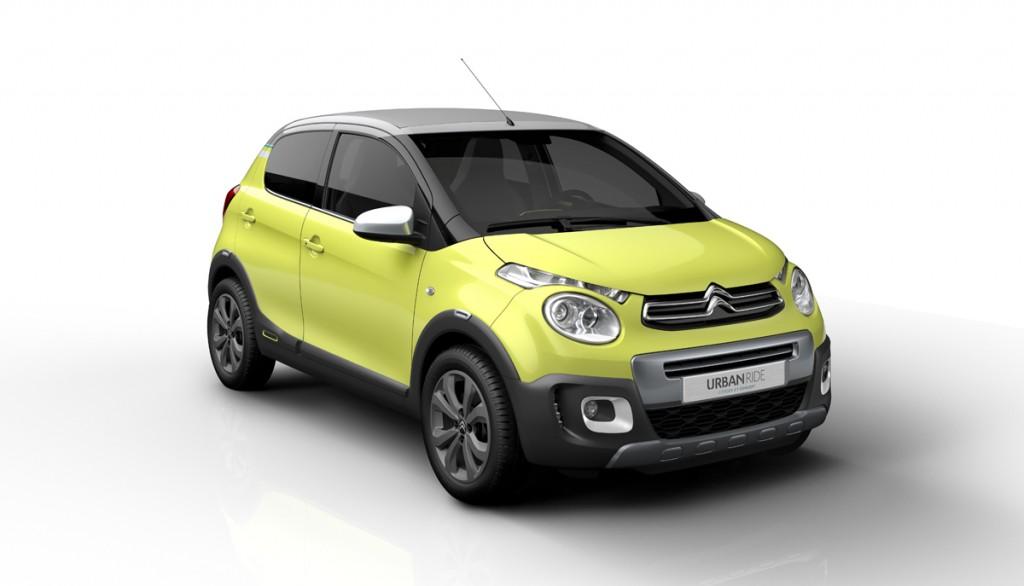 Citroën C1, C1 AirScape y C1 Urban Ride dirán presente en el Salón de París