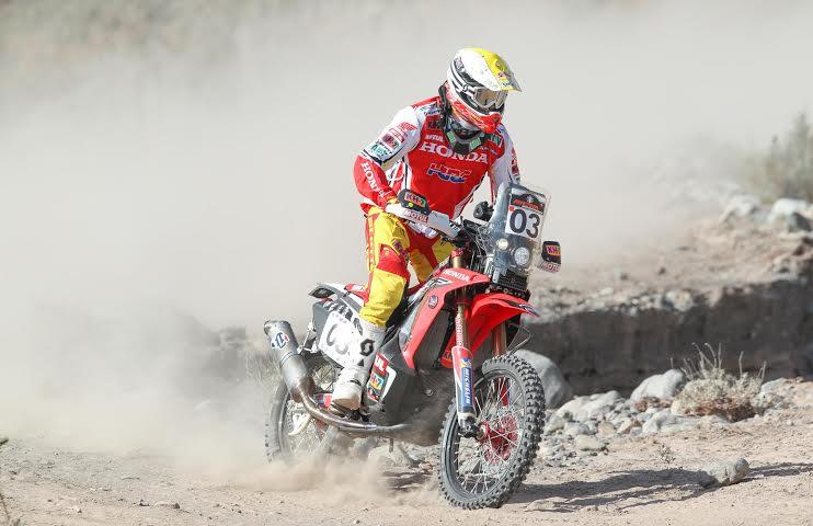 Joan Barreda Bort gana la etapa 3 del Atacama Rally y toma el control de la general