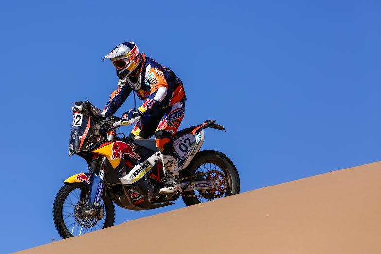 """Marc Coma gana la segunda etapa del Atacama Rally, """"Burrito"""" mantiene el liderato"""
