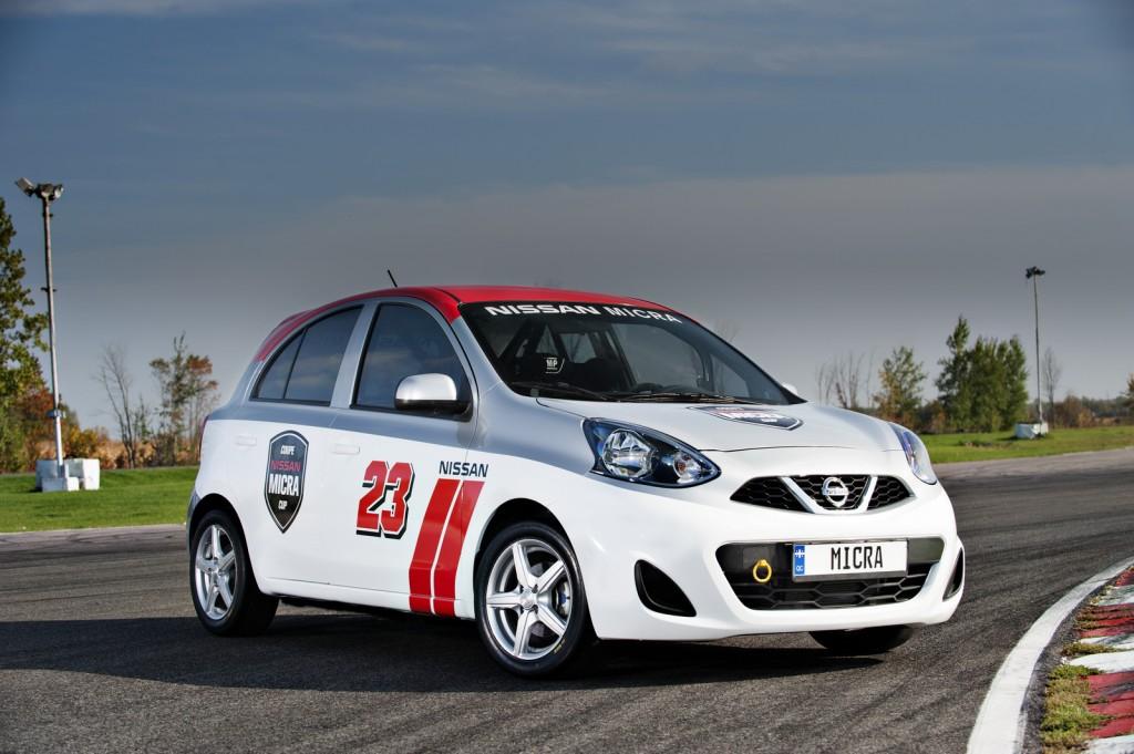 En Canadá también quieren correr Nissan March, lanzan la Nissan Micra Cup