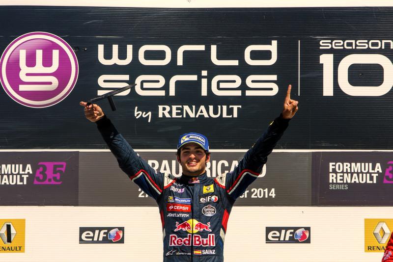Conozca a Carlos Sainz Jr, el nuevo campeón de la Fórmula Renault 3.5