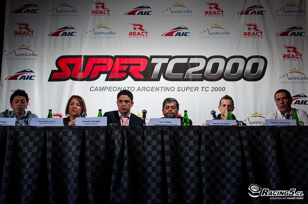 Se presentó la 11° fecha del Super TC2000 en Chile