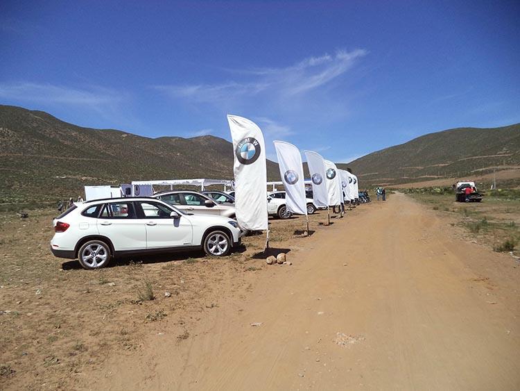 BMW La Serena invitó a clientes y prensa a probar su línea todoterreno BMW X