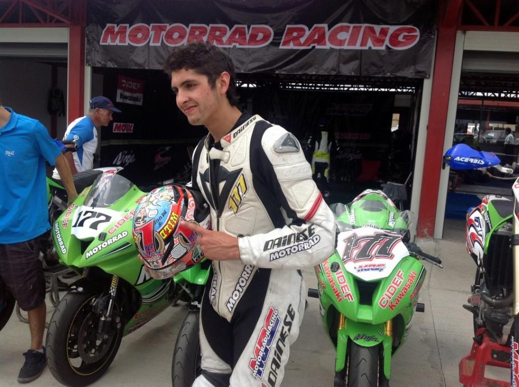 [CCV] Dominante victoria en Codegua le entrega a Maxi Scheib el título del Superbike chileno