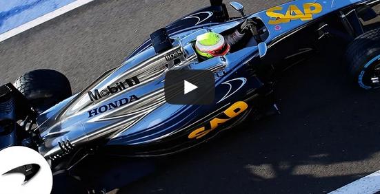 [Video] Comienza la nueva era de McLaren-Honda en la Fórmula 1