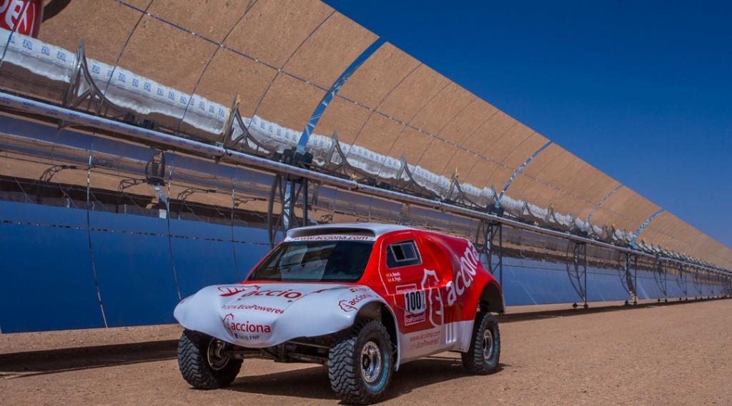 Ambicioso proyecto Acciona Dakar aspira a terminar el Dakar 2015 con un auto 100% eléctrico