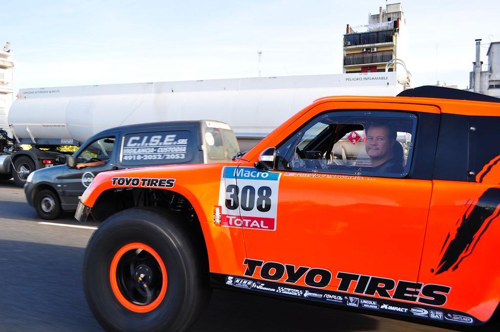 Dakar 2015 Robby Gordon Ya Est 225 Haciendo Travesuras En