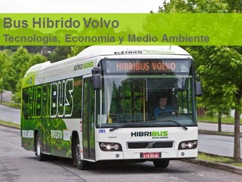 Bus urbano híbrido de Volvo comienza a operar en Transantiago