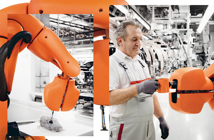 Audi y su Fábrica Inteligente