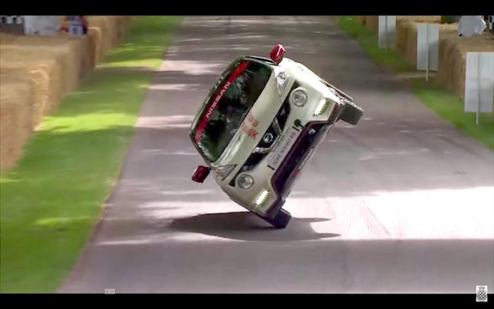 Nissan Juke Nismo RS impone un nuevo récord durante el Festival de la Velocidad de Goodwood