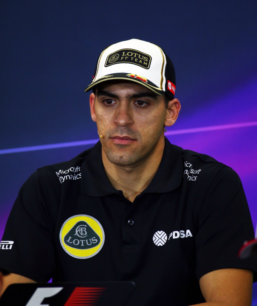 Pastor Maldonado se quedó fuera de la Fórmula 1
