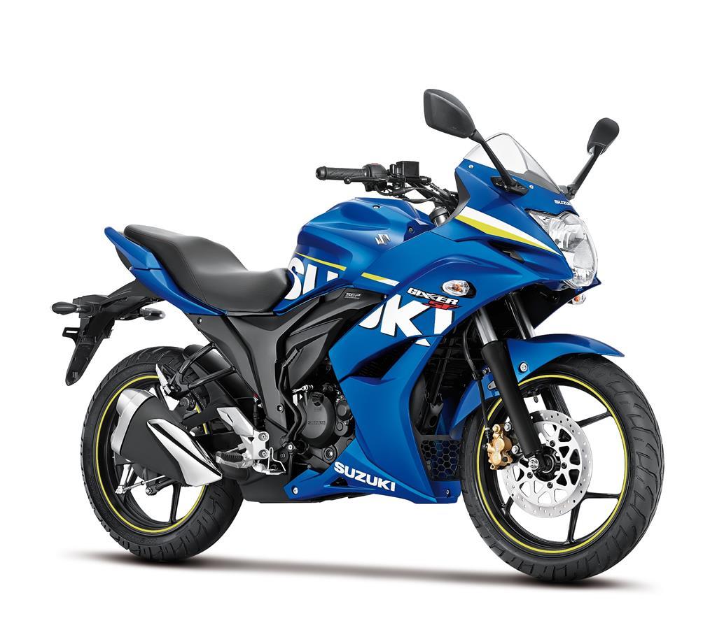 Suzuki Gixxer  Colours