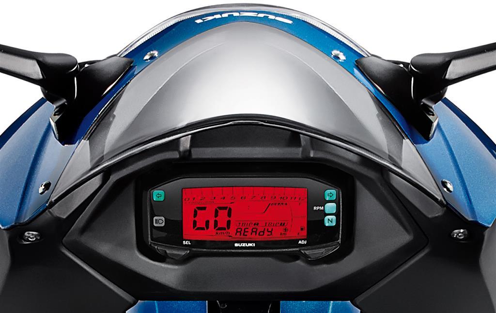 Suzuki Intruder Speedomiter Restet