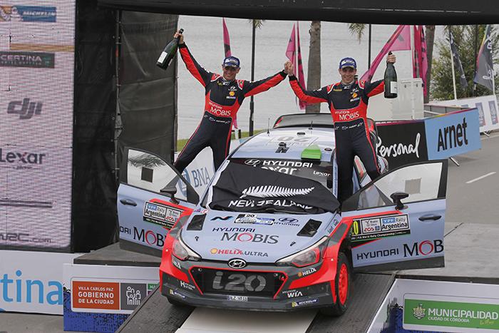 [WRC] Hyundai Motorsport gana en el Rally de Argentina