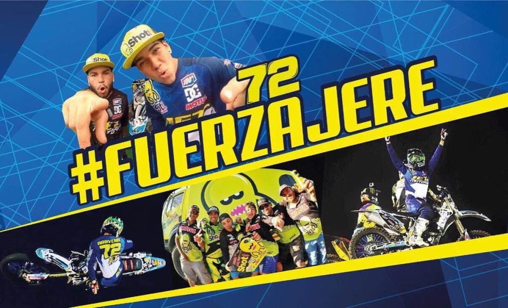 El mundo de las motos se une para ayudar a Jeremías Aravena tras grave accidente