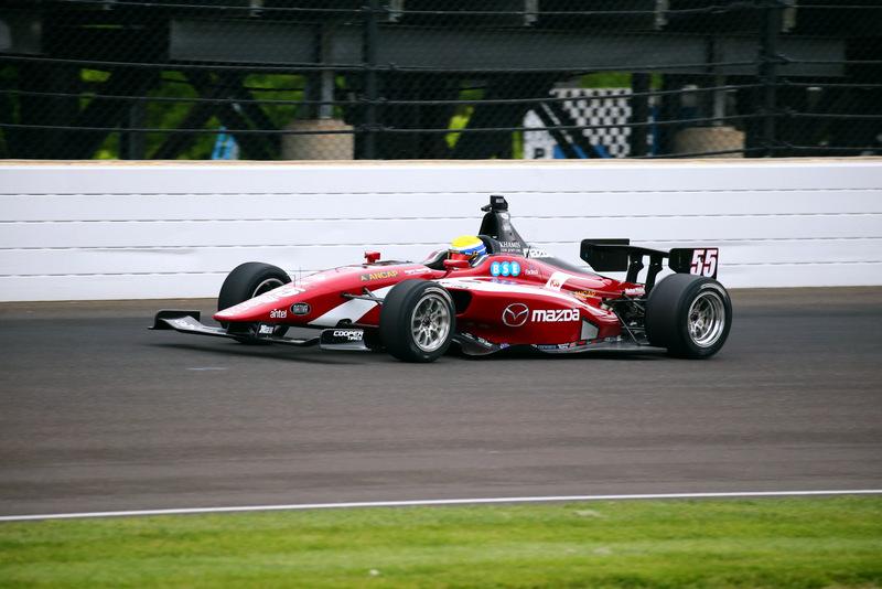 [Indy Lights] Uruguayo Santiago Urrutia largará en la primera fila en el óvalo de Indianápolis