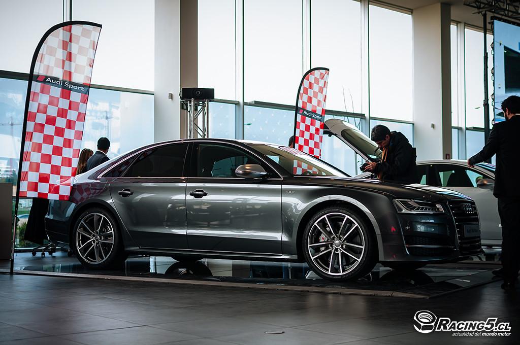 [Lanzamiento] Audi Sport hace su debut oficial en Chile