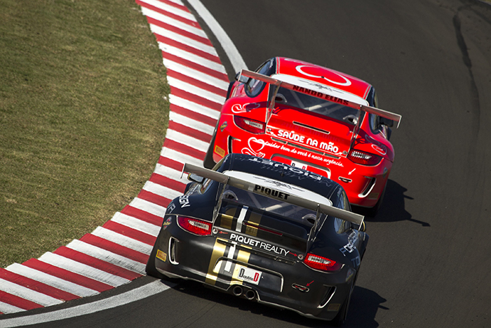 Gonzalo Huerta con la vista puesta en Cristiano Piquet en la Porsche GT3 Cup Challenge