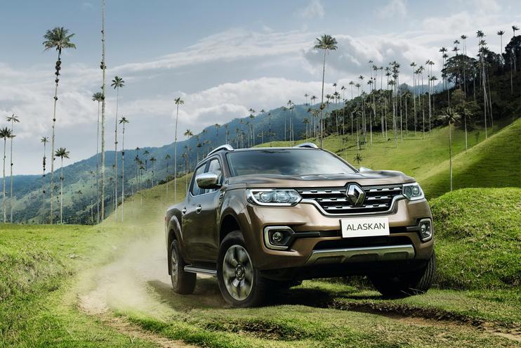 """Renault Alaskan 2017, """"le camioneta"""" hace su debut mundial en Medellín"""