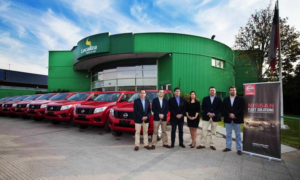Nuevas Nissan NP300 a la flota Localiza Rent a Car