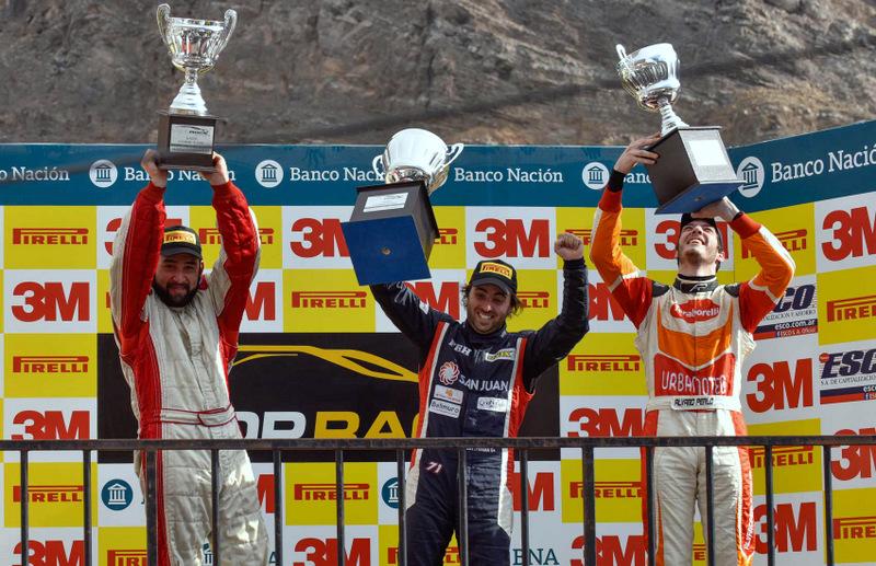 [Top Race Series] ¡Víctor Cornejo subió al podio en Argentina!