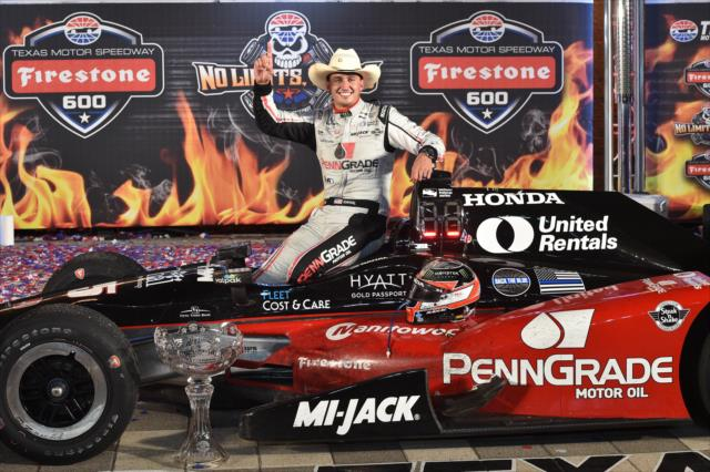 [IndyCar] – Graham Rahal vence en un emocionante final en Texas