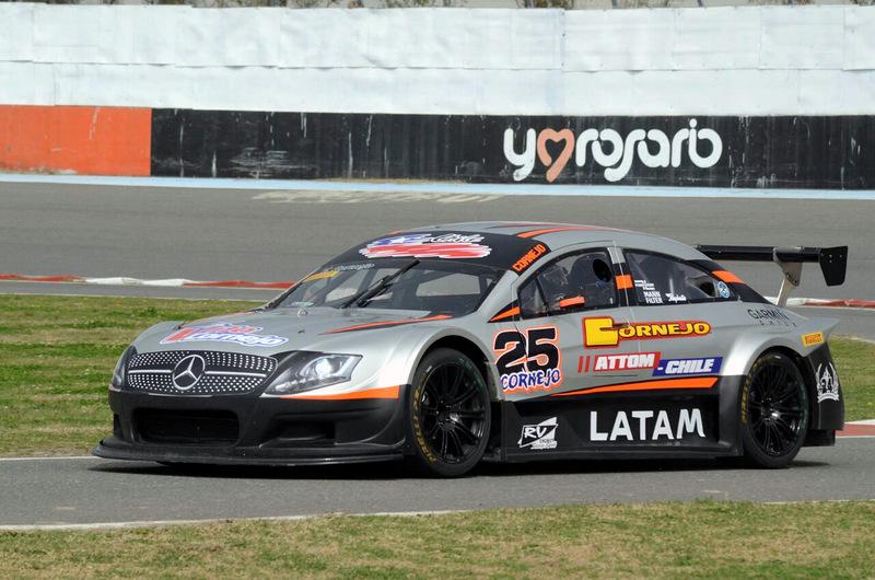 [Top Race Series] Víctor Cornejo fue cuarto en Rosario