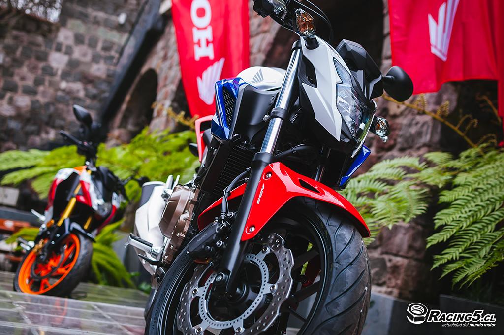 [Lanzamiento] Honda renueva a su naked estrella CB 500F