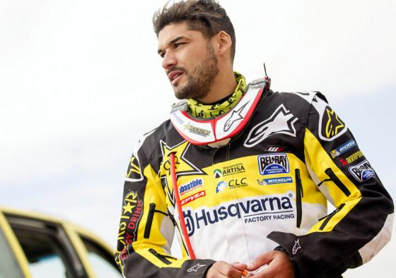 Pablo Quintanilla defenderá su triunfo del año pasado (Imagen: IMAGEN: MIGUEL PINOCHET/HUSQVARNA FACTORY RACING)