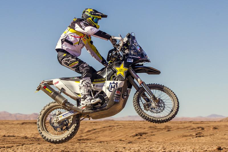 [Atacama Rally] Pablo Quintanilla probó la moto con la cual buscará un nuevo triunfo en la Copa del Mundo de la FIM