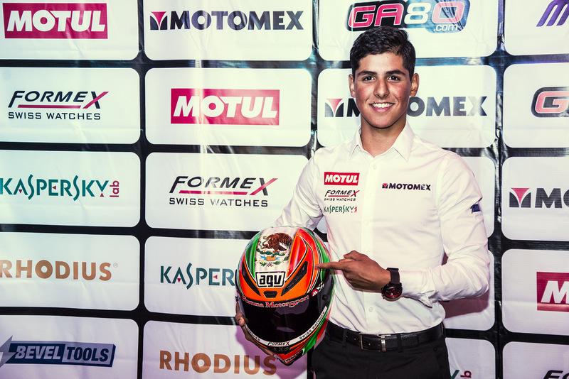 [Moto3] Gabriel Martínez-Abrego será el primer piloto mexicano en participar en el Campeonato Mundial de Motociclismo