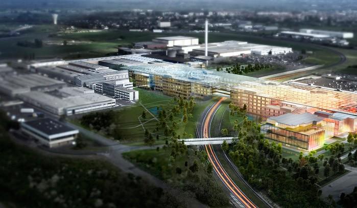 Michelin inaguró su nuevo centro de investigación en Francia