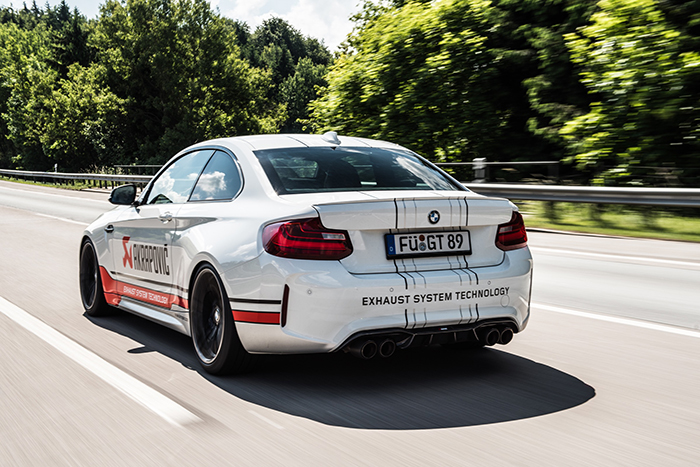 Akrapovic Exhaust System, porque un BMW M2 puede ser aún más deportivo