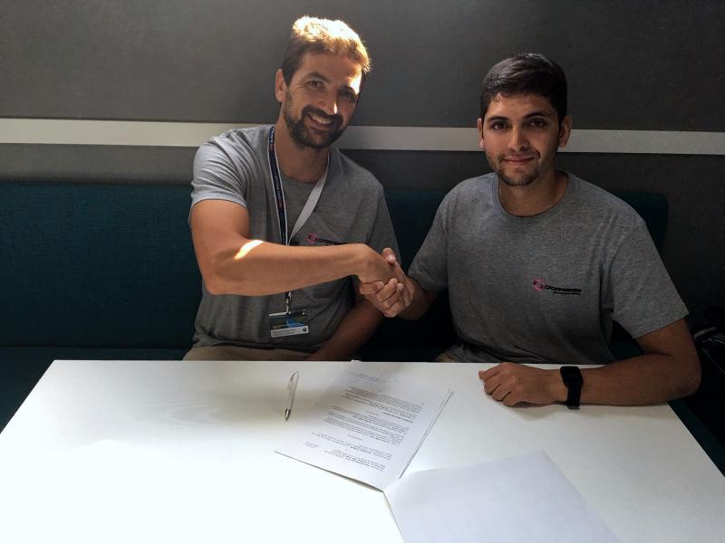 [Chilenos en el exterior] Maxi Scheib y el Graphbikes EasyRace SBK Team seguirán juntos en 2017