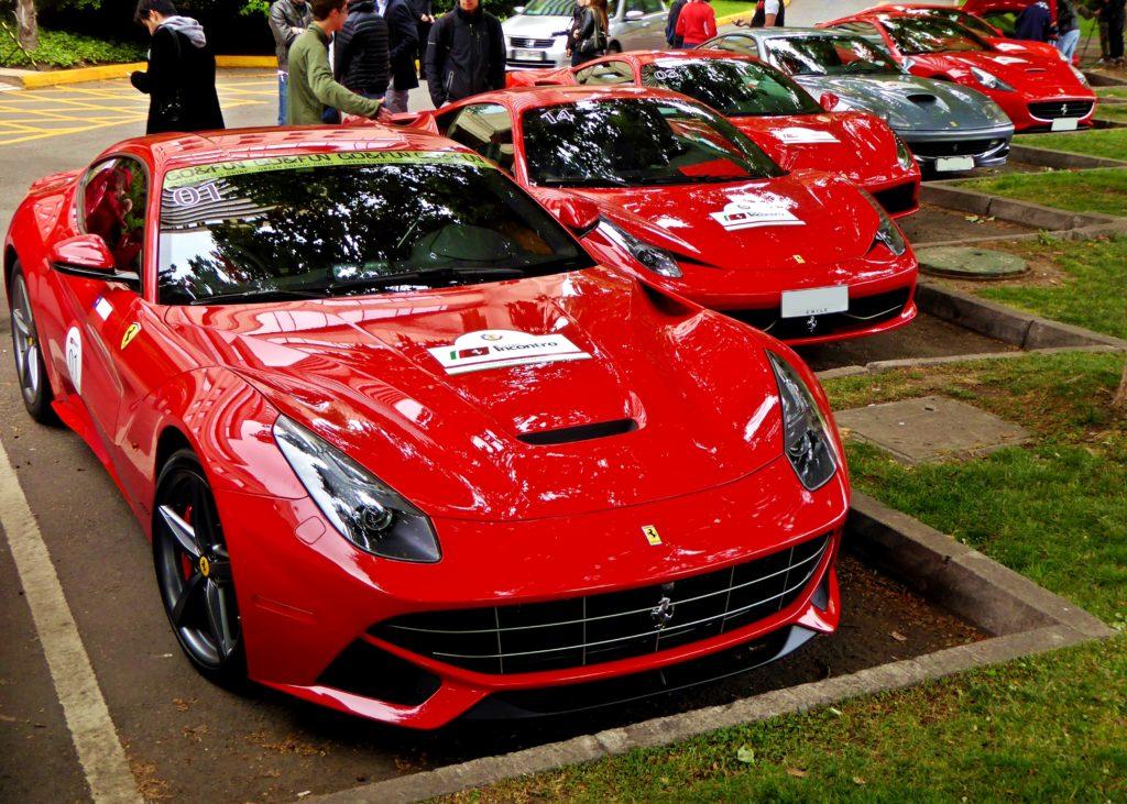 [Galería] Incontro Ferrari Sudamérica. La largada del contingente chileno