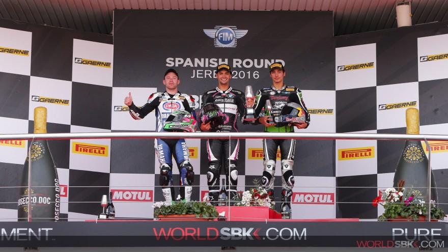 [Superstock 1000 FIM Cup] ¡Histórico triunfo de Maxi Scheib en Jerez de la Frontera!