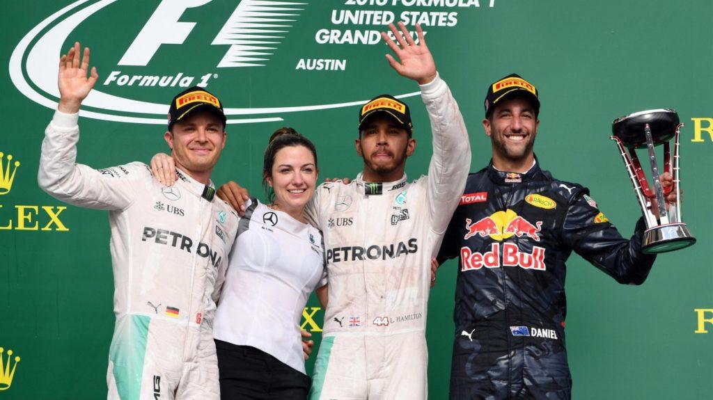 [Fórmula 1] – Lewis Hamilton domina en Austin pero Rosberg llegara a México ya rozando el titulo